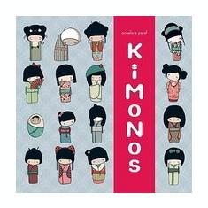 Kokeshi Kimono Book - Carte in engleza