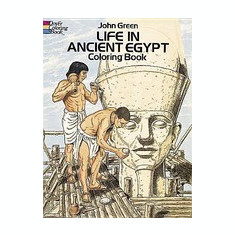 Life in Ancient Egypt Coloring Book - Carte de colorat