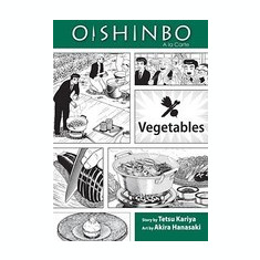 Oishinbo: Vegetables: a la Carte - Carte in engleza