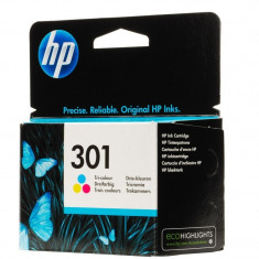 Cartus cerneala Original HP Tri-color 301 w.Vivera ink, compatibil DJ1000/1050/1055/2050/3050, 165pag