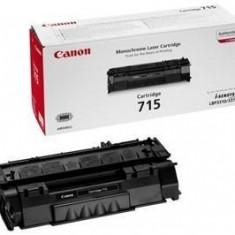 Toner Original pentru Canon Negru CRG-715, compatibil LBP3310/3370, 3000pag