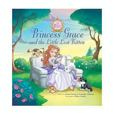 Princess Grace and the Little Lost Kitten - Carte in engleza