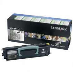 Toner Original pentru Lexmark Negru, compatibil X340/342, 2500pag
