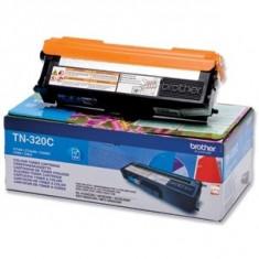 Toner Original pentru Brother Cyan, compatibil MFC-9120/9320/DCP-9010/HL-3040/3070, 1400pag