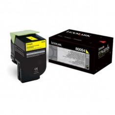 Toner Original pentru Lexmark Yellow, compatibil C310/410/510, 2000pag