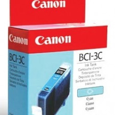 Cartus cerneala Original Canon BCI-3C Color, compatibil BC-31