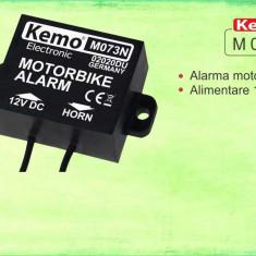 Alarma pentru motocicleta Kemo M073 N - Alarme Moto