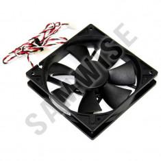 Ventilator Top Motor 120mm 12v, 0.45A, Rotatii 2200rpm, 3 pini ***GARANTIE*** - Cooler PC Delta Electronics, Pentru carcase