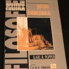 Mizeria istoricismului / Karl R. Popper - Filosofie