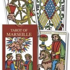 Tarot of Marseille/Tarot de Marsella/Tarot de Marseille/Tarot de Marseille/Tarocchi Di Marsiglia - Carte in engleza