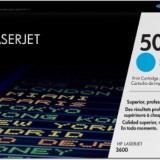 Toner Original pentru HP Cyan, compatibil LJ 3600, 4000pag Q6471A