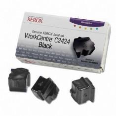 Cartus cerneala Original Xerox Negru, compatibil WorkCentre C2424, 3 sticks, 3400pag