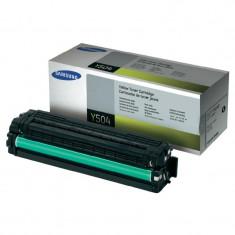 Toner Original pentru Samsung Yellow, compatibil CLP-415/CLX-4195, 1800pag