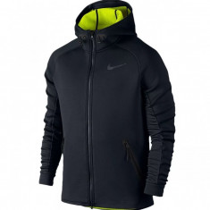Nike Therma-Sphere Max Hanorac - Hanorac barbati Nike, Marime: L, Culoare: Negru