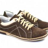 Pantofi barbati sport - casual din piele naturala Bufu Maro - PHNICSMARO - Pantof barbat, Marime: 39, 40, 41, 42, 43, 44