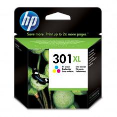 Cartus cerneala Original HP Tri-color 301XL w.Vivera ink, compatibil DJ1000/1050/1055/2050/3050, 330pag