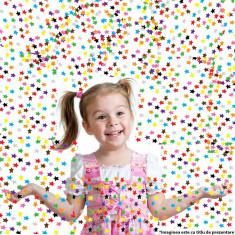 Punga confetti stelute multicolore 5 mm