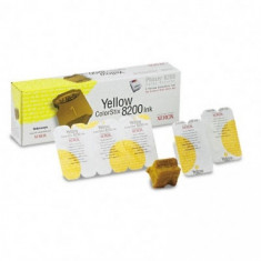 Cartus cerneala Original Xerox Yellow, compatibil Phaser 8200, 5 sticks, 7000pag