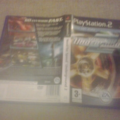 Need for speed Underground 2 - NFS - PS 2 Playstation - Jocuri PS2, Curse auto-moto, 3+, Multiplayer
