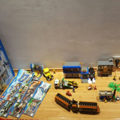Vand Lego City Piata Orasului+Bonus Tractor+Masina Pompier 550 ron