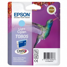 Cartus cerneala Original Epson Photo Cyan C13T08054011 compatibil Stylus Photo R265/360, RX563