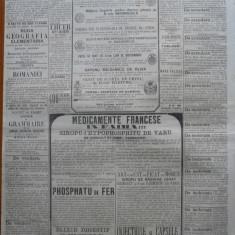 Buciumul , ziar politic , literar si comercial , nr. 292 , 1864 , Bolliac