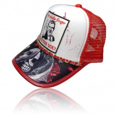 "Sapca Trucker MIDDLE FINGER ""Fashion Caps Romania"" - Sapca Barbati, Marime: Marime universala, Culoare: Din imagine"