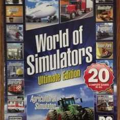 The Ultimate Simulator Box 5 Games (PC) - Jocuri PC Activision, Simulatoare