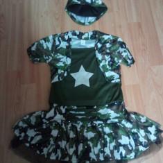 Costum Camuflaj fetite 4-12 ani