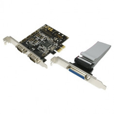 Card PCI-Express adaptor la 2 x SERIAL+ 1 x PARALEL, Logilink