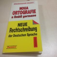 NOUA ORTOGRAFIE A LIMBII GERMANE - Curs Limba Germana Altele