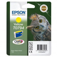 Cartus cerneala Original Epson Photo Yellow C13T07944010 compatibil Stylus Photo 1400