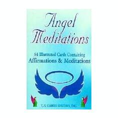 Angel Meditation Tarot Cards - Carte ezoterism