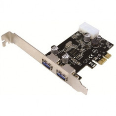 Card PCI-Express adaptor la 2 x USB 3.0, Logilink