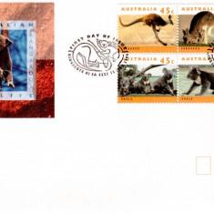 AUSTRALIA 1994, FDC, FAUNA