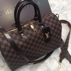 Genti Louis Vuitton Speedy Bandouilere 35`Collection - Geanta Dama Louis Vuitton, Culoare: Din imagine, Marime: Masura unica, Geanta de umar, Piele