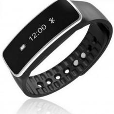 Bratara fitness Techfit MWB181, Pedometru, Bluetooth (Negru)