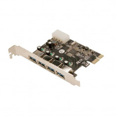Card PCI-Express adaptor la 4 x USB 3.0, Logilink