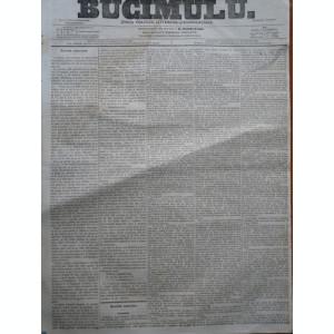 Buciumul , ziar politic , literar si comercial , nr. 289 si 290 , 1864 , Bolliac