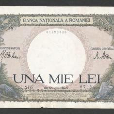 ROMANIA 1000 1.000 LEI 23 martie 1943 [1] - Bancnota romaneasca