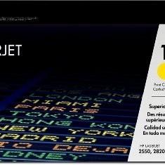 Toner Original pentru HP Yellow, compatibil CLJ 2550/2800, 4000pag