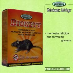 Momeala raticida proaspata Ratex pasta 200gr. anti soareci si alte rozatoare