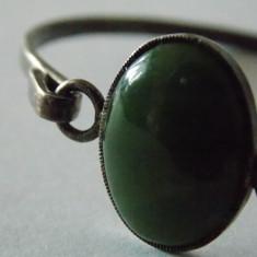 Bratara argint vintage cu aventurin -1411