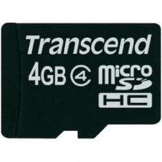 MicroSDHC 4GB (Class 4) TRANSCEND
