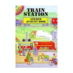 Train Station Sticker Activity Book