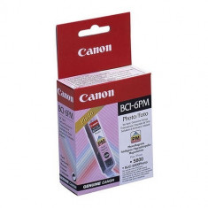 Cartus cerneala Original Canon BCI-6PM Photo Magenta, compatibil S800