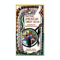 Native American Tarot Deck - Carte in engleza