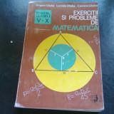 EXERCITII SI PROBLEME DE MATEMATICA - GRIGORE GHEBA - Carte Matematica