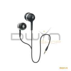 Casti CREATIVE In-Ear 'EP-630' - pentru MP3 player, interne, black - Casca PC