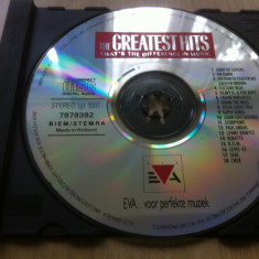 Greatest Hits That s the difference in music cd disc muzica pop fara coperta